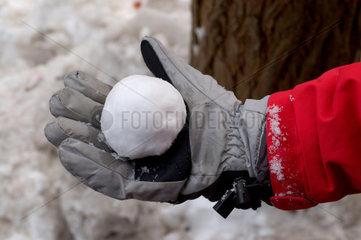 Der perfekte Schneeball