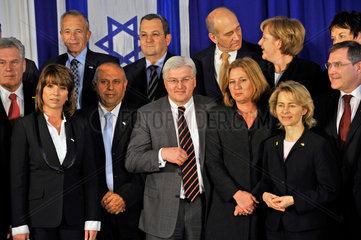 Gruppenbild Minister