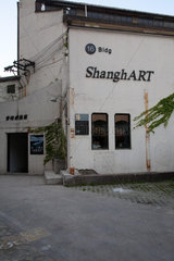 Shanghai  Kuenstlerviertel M50.