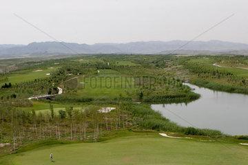 Golfanlage in Urumqi | gulf course