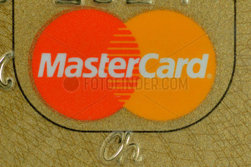 Mastercard / Eurocard in Gold.