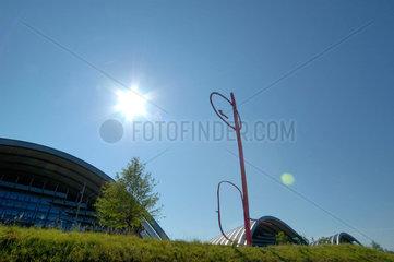 Das Zentrum Paul Klee in Bern (Schweiz).