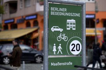 Begegnungszone Maassenstrasse
