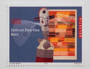 Sonderbriefmarke Zentrum Paul Klee.