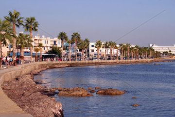 Cyprus  Paphos  the sea