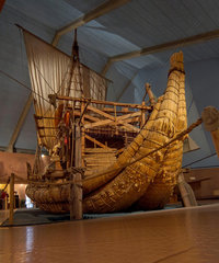 Die RA II im Kontiki Museum in Oslo  Norwegen.