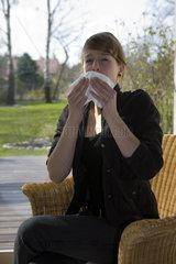 Thema Allergie: Niesen