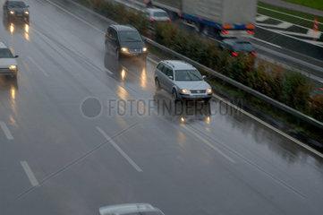 Draengeln auf der Autobahn - Gefahr!