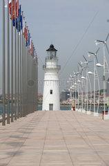 Qingdao  Leuchtturm