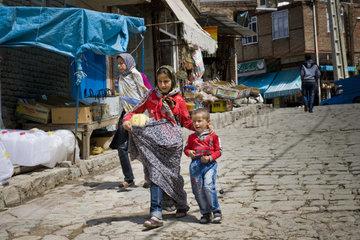 Iran  Azerbaijan region  Kandovan  daily life