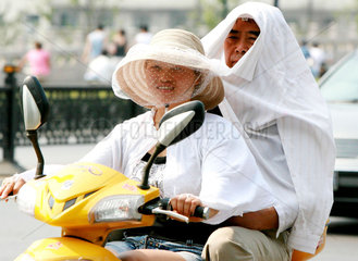 China  Hitzewelle in der Suzhou Region