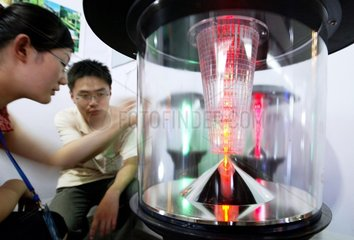 China  Ausstellung mit energiesparenden Produkten