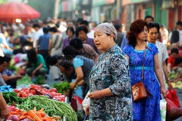China  Alltag in Urumqi  Autonome Region Xinjiang Uygur