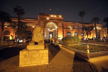 Aegypten  Kairo  Historische Aussetellung