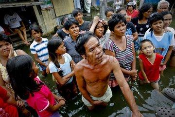 Philippinen  Auswirkungen des Tropensturms Kestana