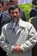 Venezuela  Caracas. Besuch des iranischen Praesidenten Mahmoud Ahmadinejad