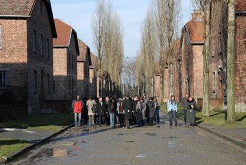 Polen  Konzentrationslager Ausschwitz