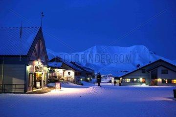 Norwegen  Longyearbyen