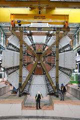 Schweiz  Genf  ATLAS (A Toroidal LHC Apparatus) bei CERN