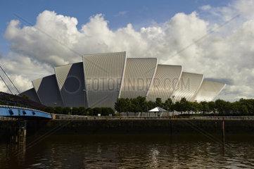 United Kingdom  Scotland  Glasgow  Clyde River  SECC Glasgow fair  Armadillo