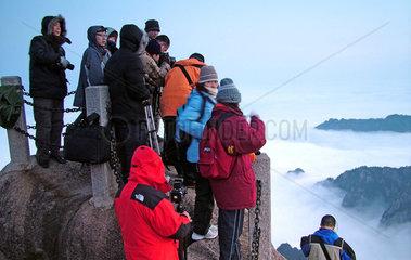China: Ausflug in das Huangshan Gebirge