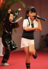China  Gesangs- und Tanz-Wettbewerb fuer Kinder