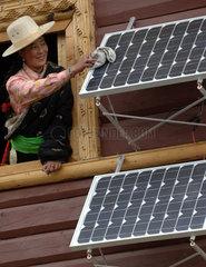 China  Sichuan Provinz  Alternative Energien