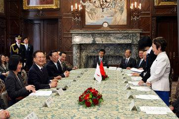 Japan  Staatsbesuch des chinesischen Ministerpraesidenten Wen Jiabao