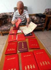 China. Seniorenstudium an der Hefei Universitaet