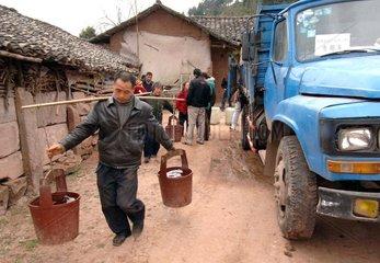 China  Fruehlings Duerre