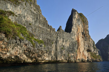 Thailand  Krabi province  Phi Phi islands  Koh Phi Phi Lee island