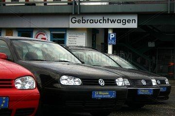 Gebrauchtwagen - Handel