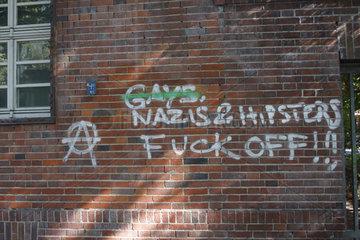 fuck off Graffiti