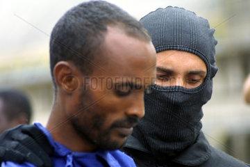 Kenia  Verhaftung von somallischen Piraten