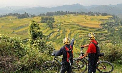 China: Reisterrassen