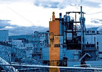Fabrik Industrie Industriehalle Fabriksgebaeude Fabrikshalle Metall