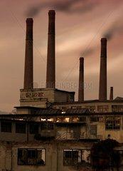 Schlote alte Fabrik