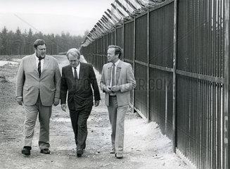 Johannes Rau  SPD-Kanzlerkandidat  WAA Wackersdorf  1986