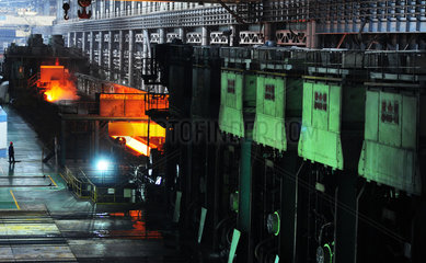 China: Stahlwerk in Anshan