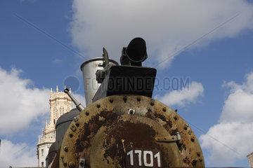 Uralt Lok in Havanna Centro
