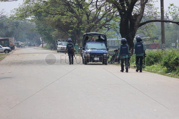 BANGLADESH-CHITTAGONG-OPERATION-MILITANT-HIDEOUT