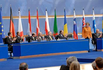 Merkel + EU Regierungschefs