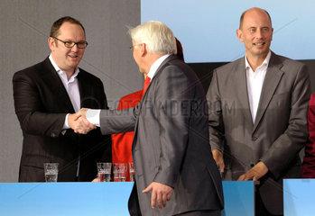 Christ + Steinmeier + Tiefensee