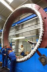 Produktion von Windenergieanlagen