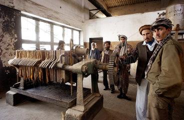 Baumwolle-Verarbeitungsfabrik in Kunduz