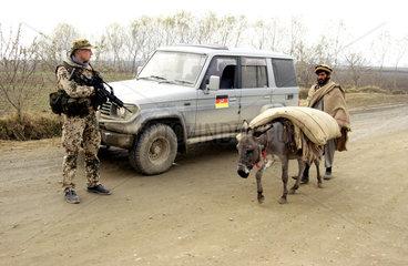 Deutscher Soldat in Kunduz