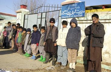 Waisenkinder in Kunduz