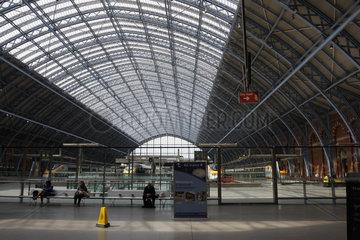 St Pancras Bahnhof in London
