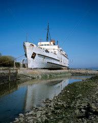 Schiffswrack  Wales