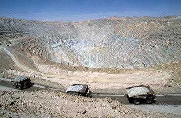 Copper mine Chuquicamata  Chile